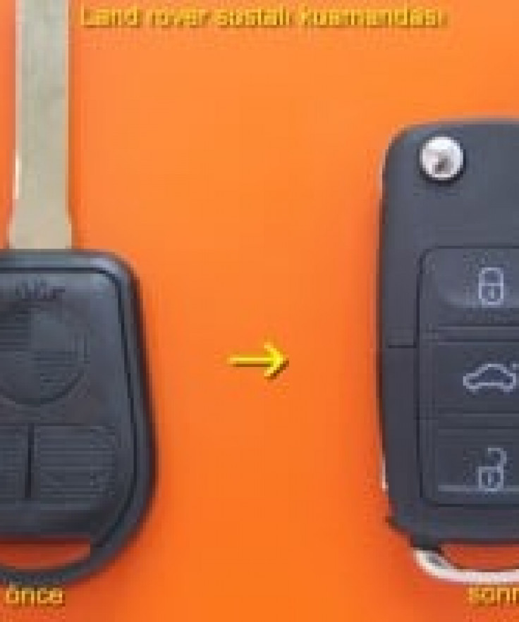 Land Rover Anahtar